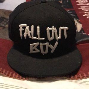 Fall Out Boy Flat Brimmed NJ Hat